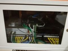 Il Rack IT dedicato al sistema WiFi Comunitario