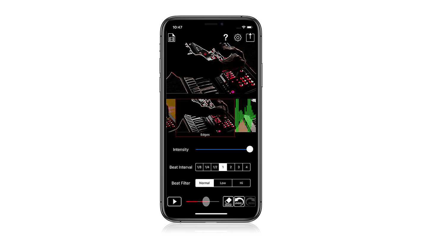 Roland S Beat Sync Maker App Brings Pro Visuals To Dj