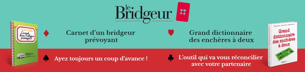 Nouveautés livres Le Bridgeur