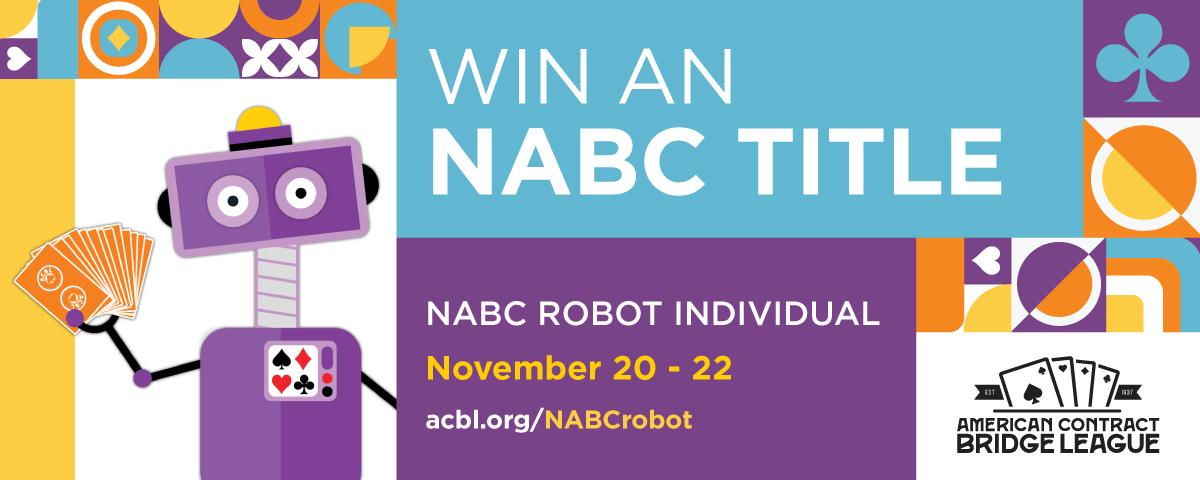 Gagnants du tournoi d'entraînement individuel de robot NABC #2