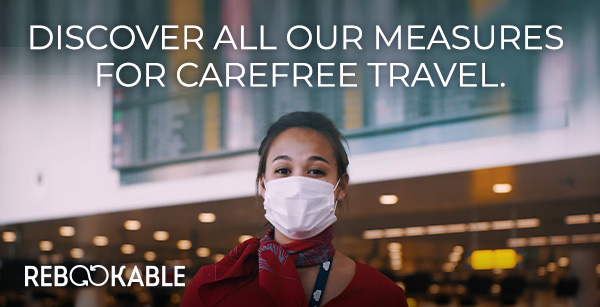 Discover all our measures for carefree travel.
