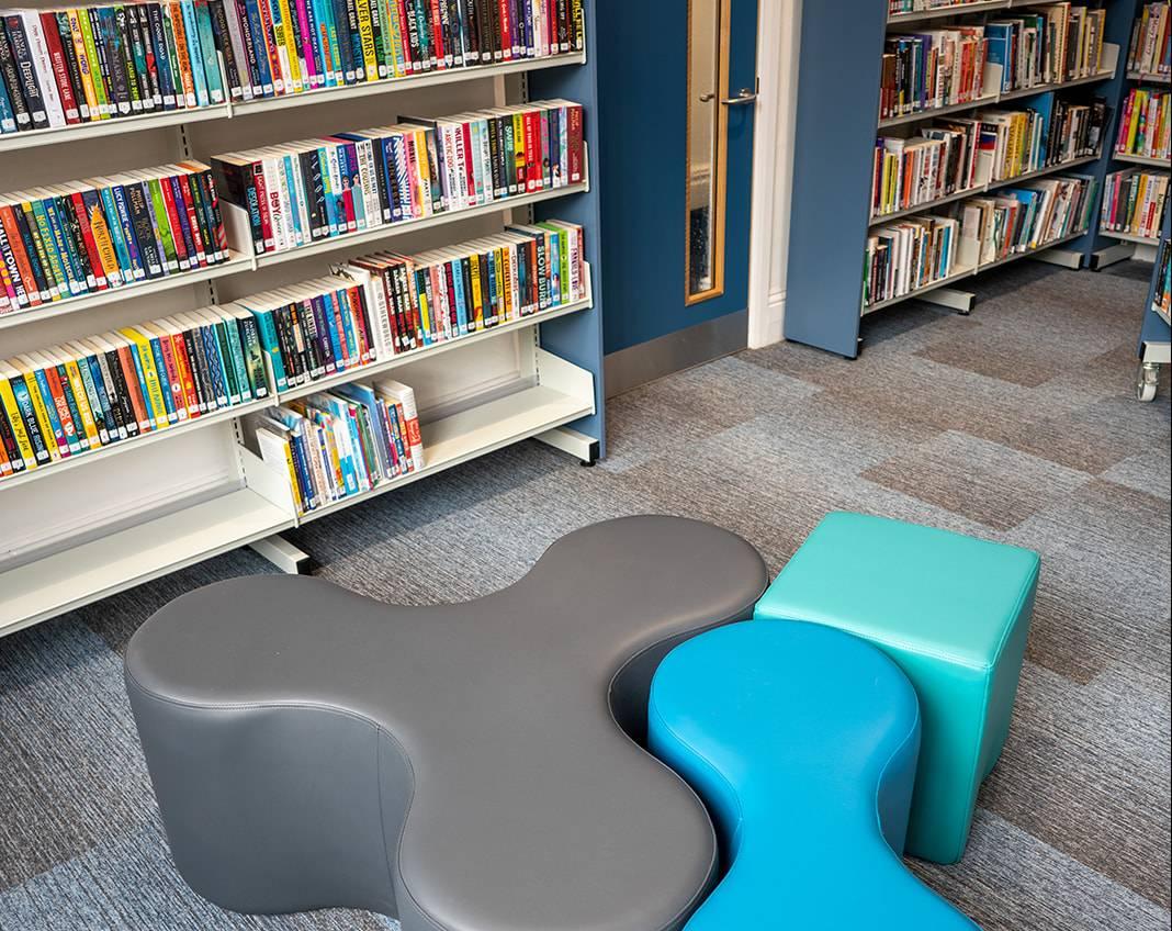 Elland Library interior