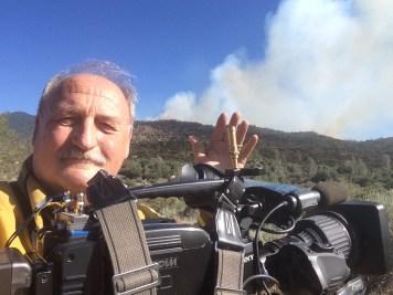 Walton at the Shirley Fire