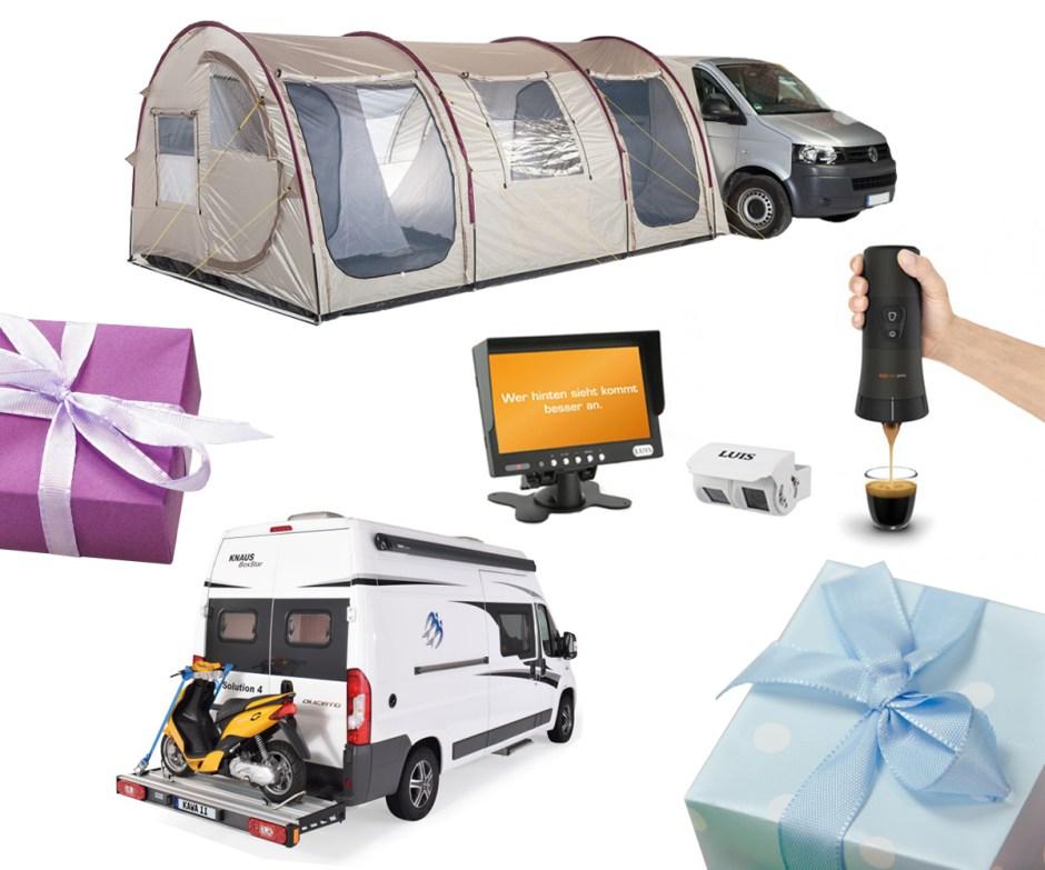 Zehn Gadgets, die das Camping perfekt machen