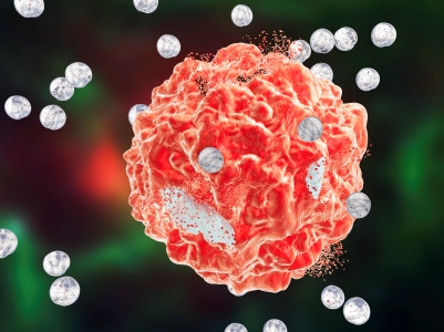 Cancer therapy benefit from nano particles