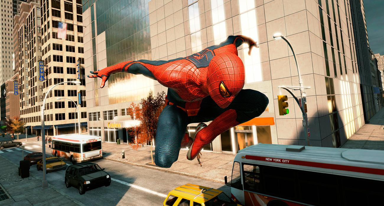 Video gameplay de THE AMAZING SPIDER-MAN 2