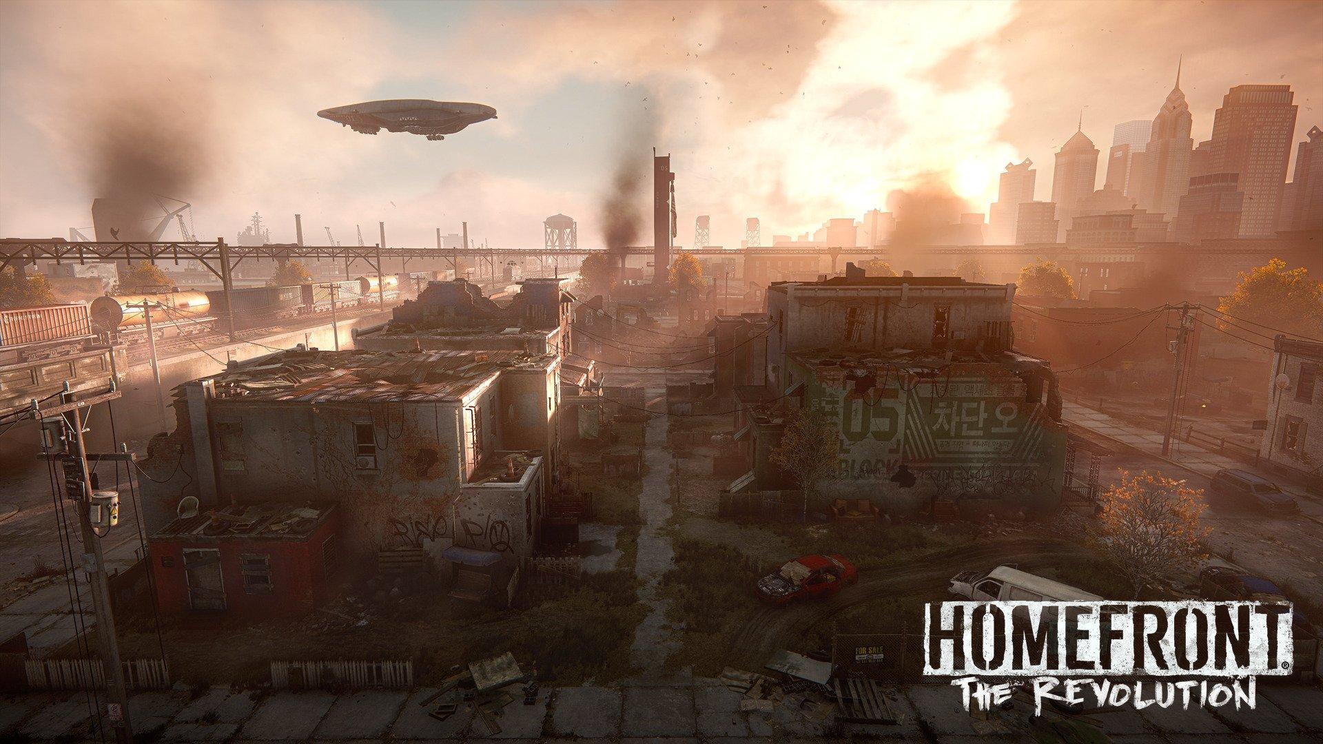 Así está quedando Homefront: The Revolution