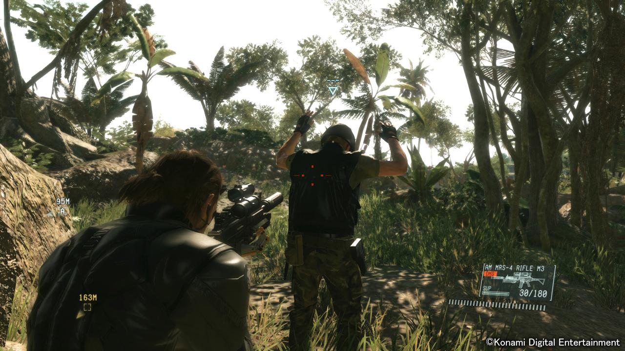 Recorré la jungla africana en MGSV: The Phantom Pain