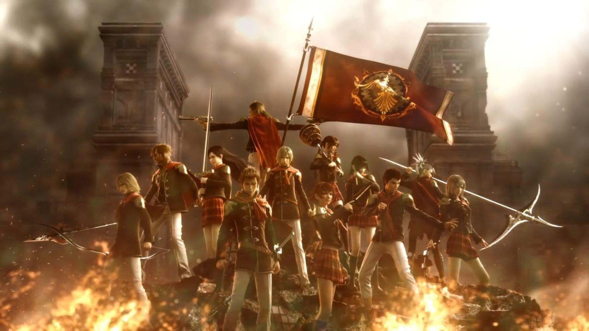 Más de Final Fantasy Type-0 HD en video