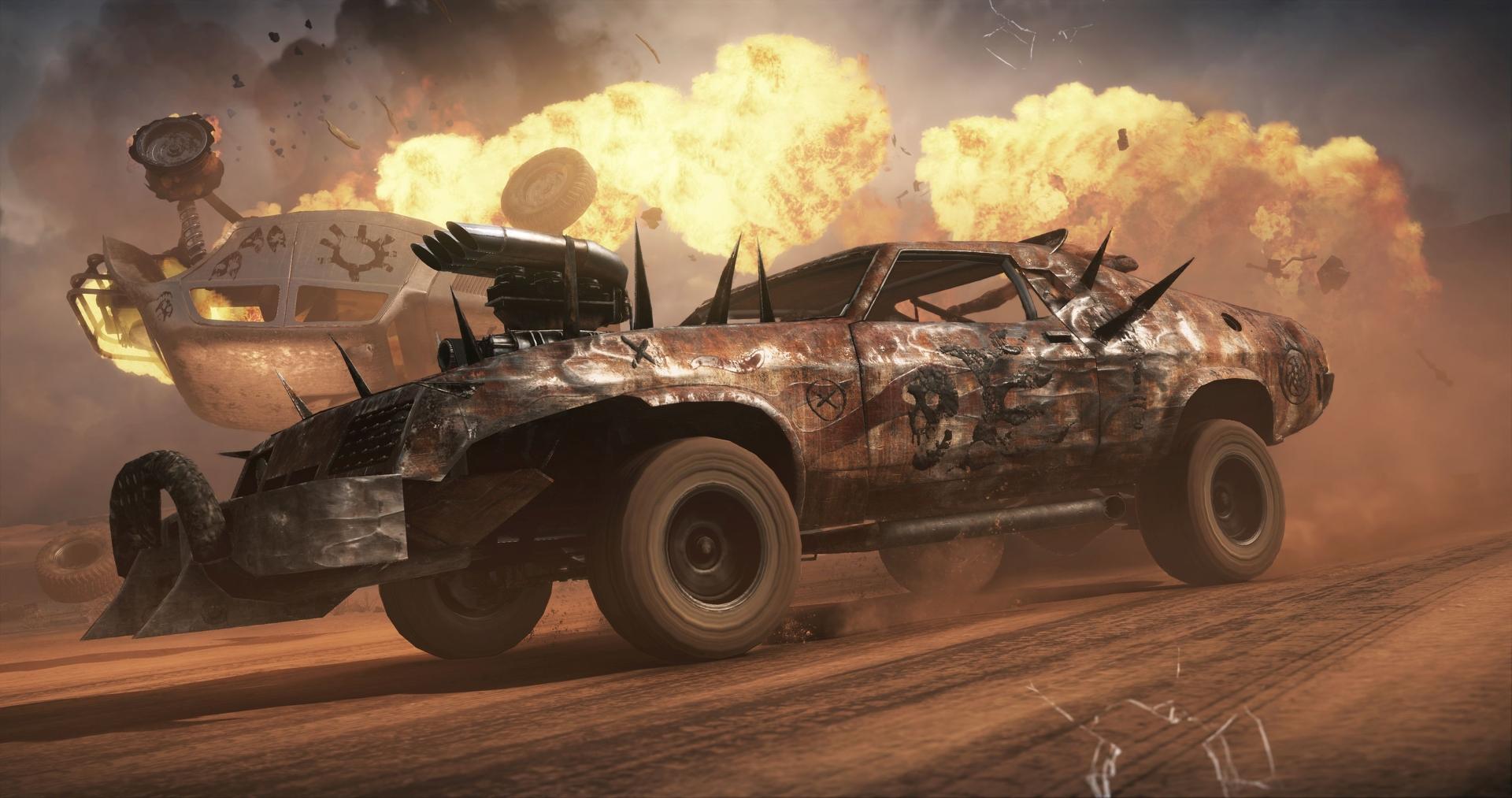 Mirá la demo de Mad Max #E32015