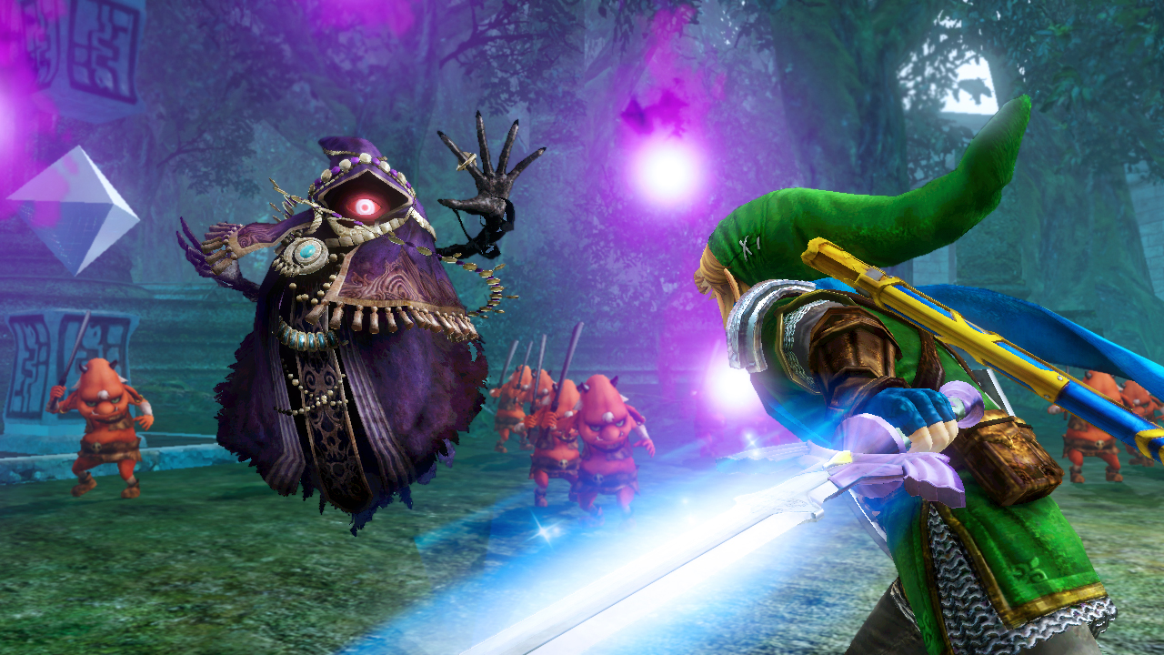 Así se juega Hyrule Warriors Legends en 3DS