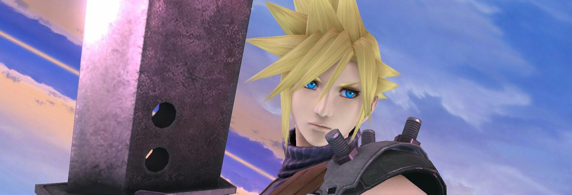 Super Smash Bros gameplay Cloud y Bayonetta