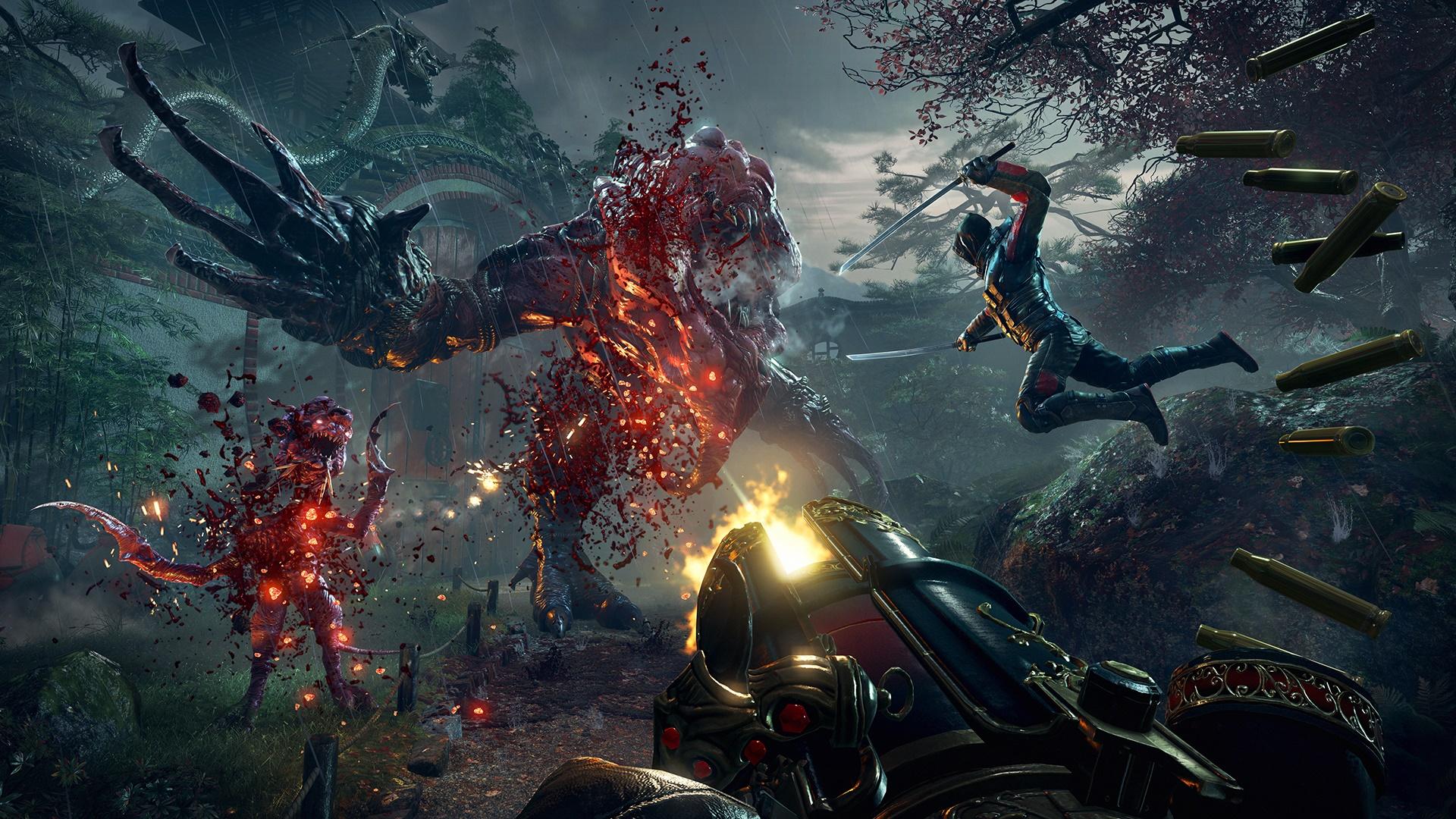 Gameplay extendido de Shadow Warrior 2