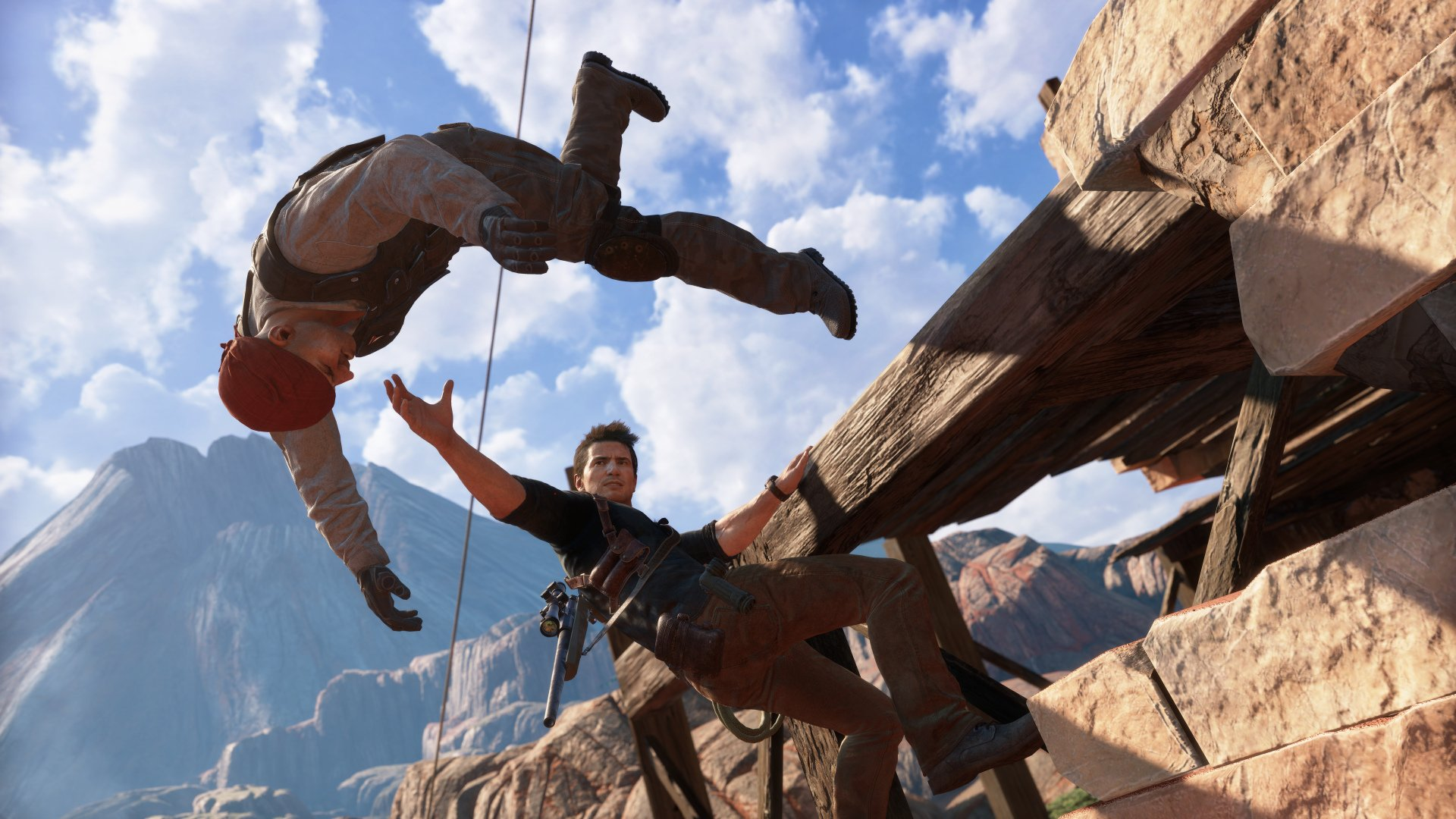 Acción en Madagascar con Uncharted 4