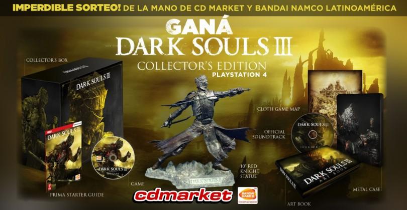 ¡Sorteamos Dark Souls 3!