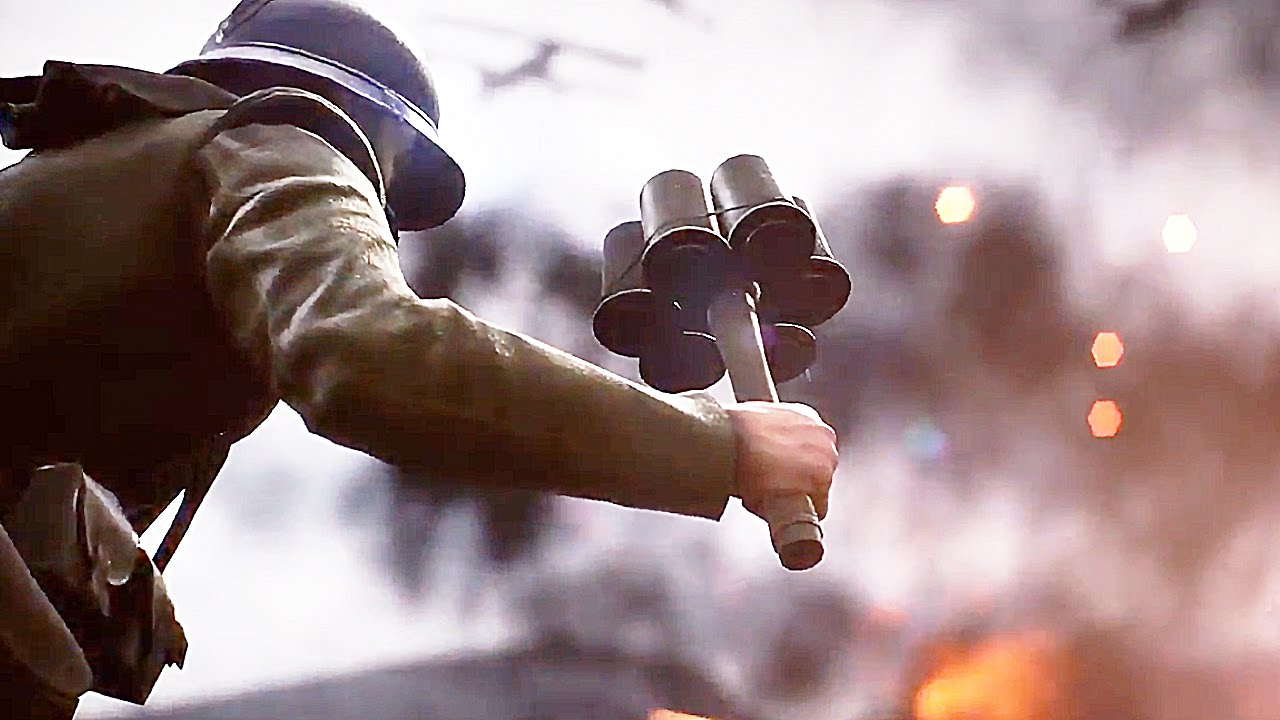 ¡Espectacular gameplay de Battlefield 1!
