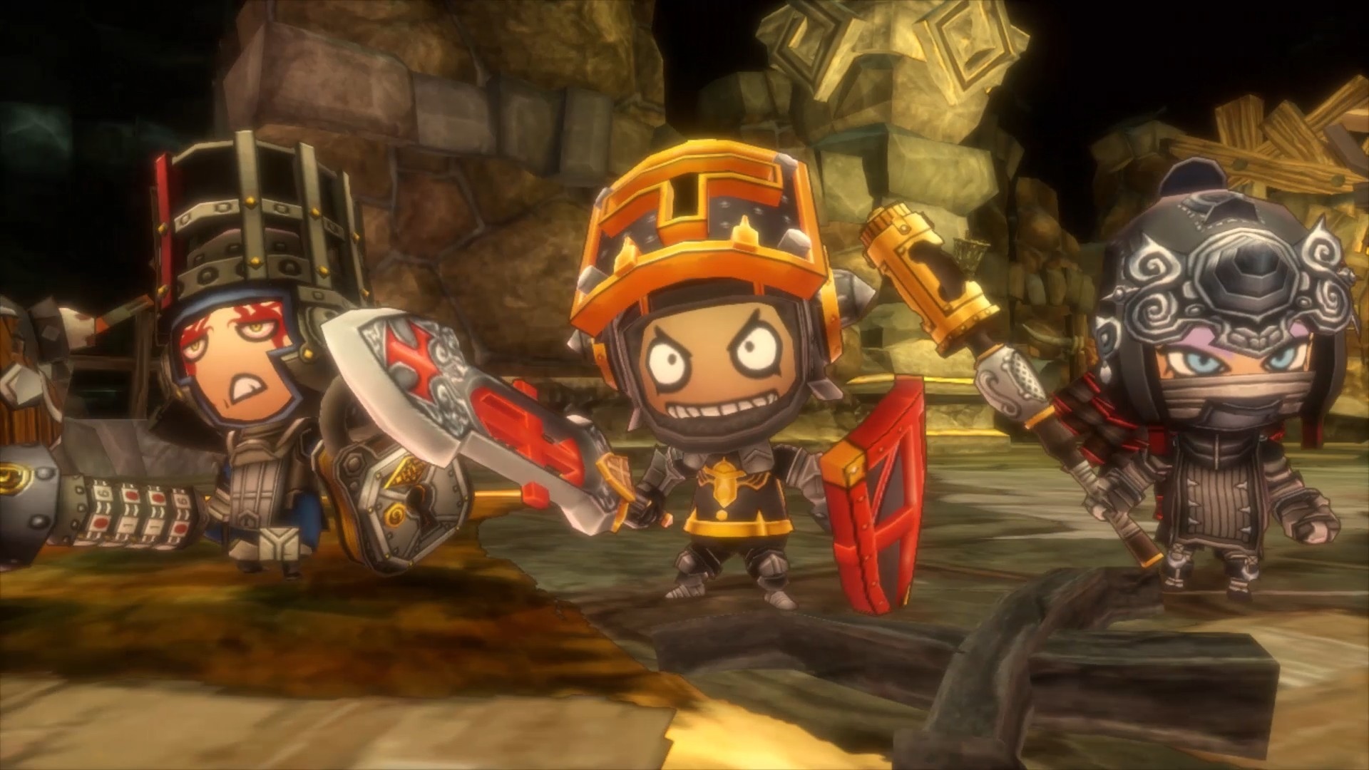 Happy Dungeons te muestra su Gameplay