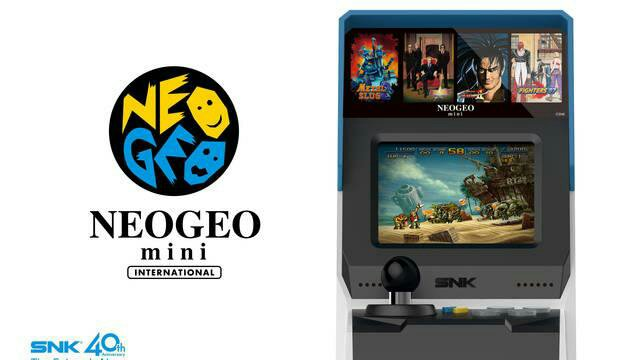 Neo Geo Mini ya es oficial