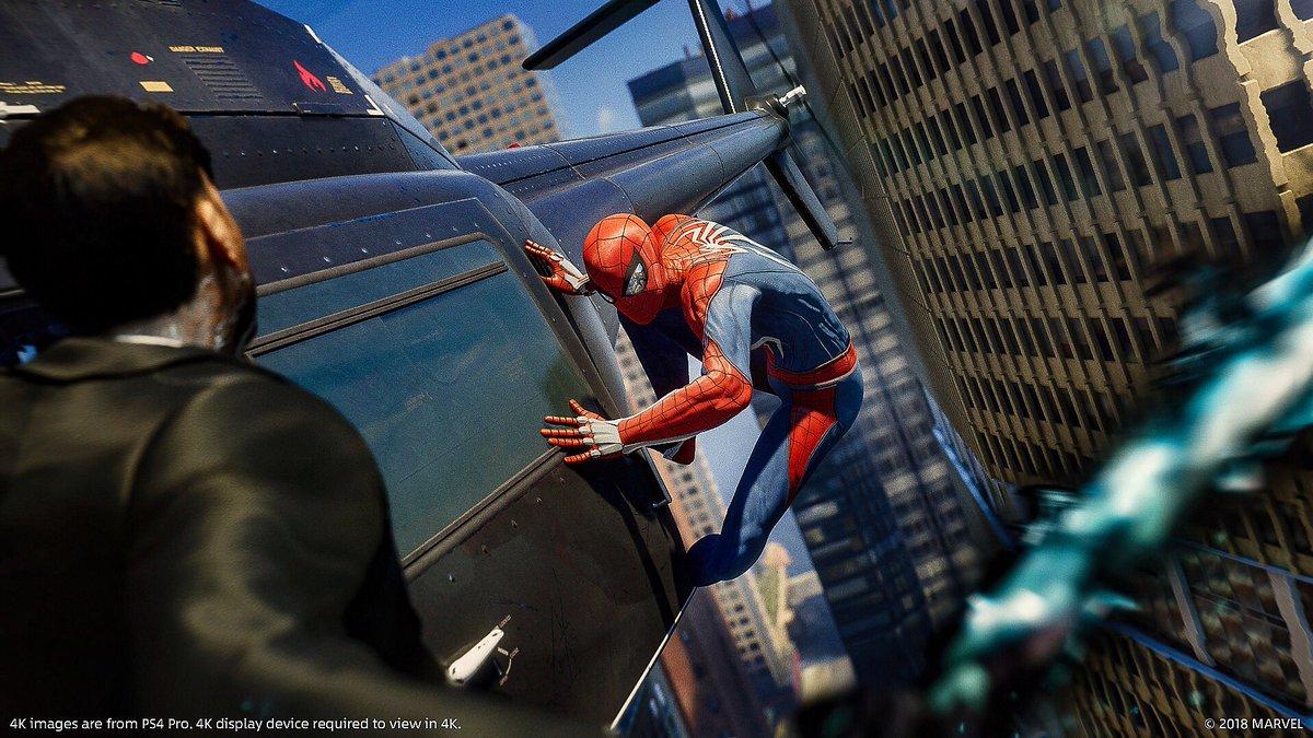 Spiderman de Play 4 en la vida real