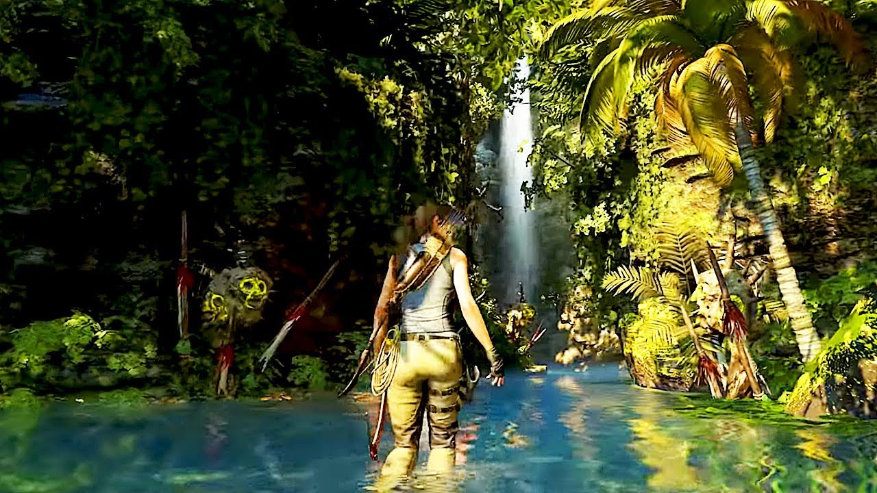 En Shadow of the Tomb Raider el entorno es tu aliado