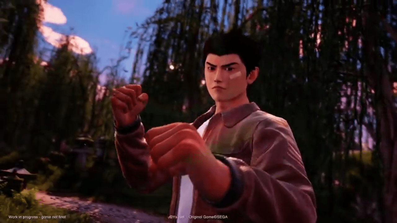 Espectacular video de Shenmue 3
