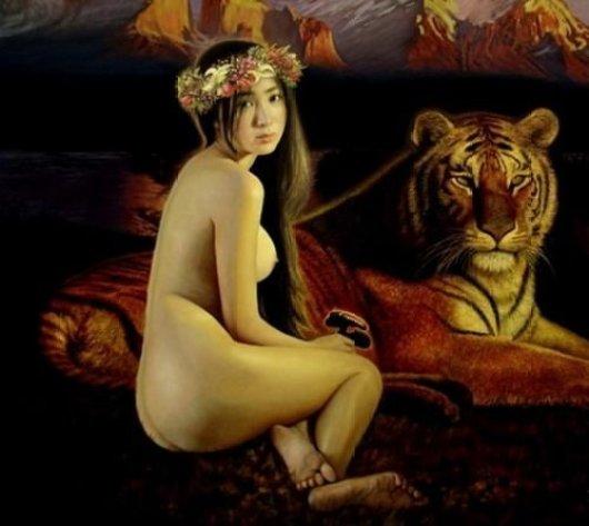 艺术还是乱整?父亲画亲生女儿的裸体开画展-澳洲唐人街