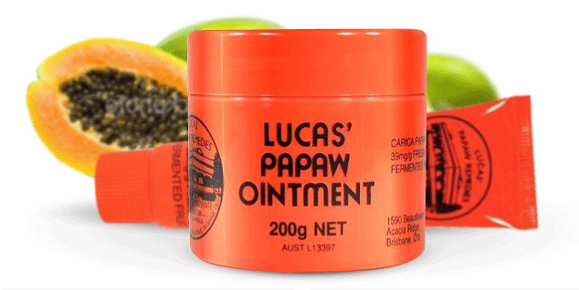 The ingredients of the Australian magic medicine papaya cream contains almost no papaya, but a chemical product harmful to the skin