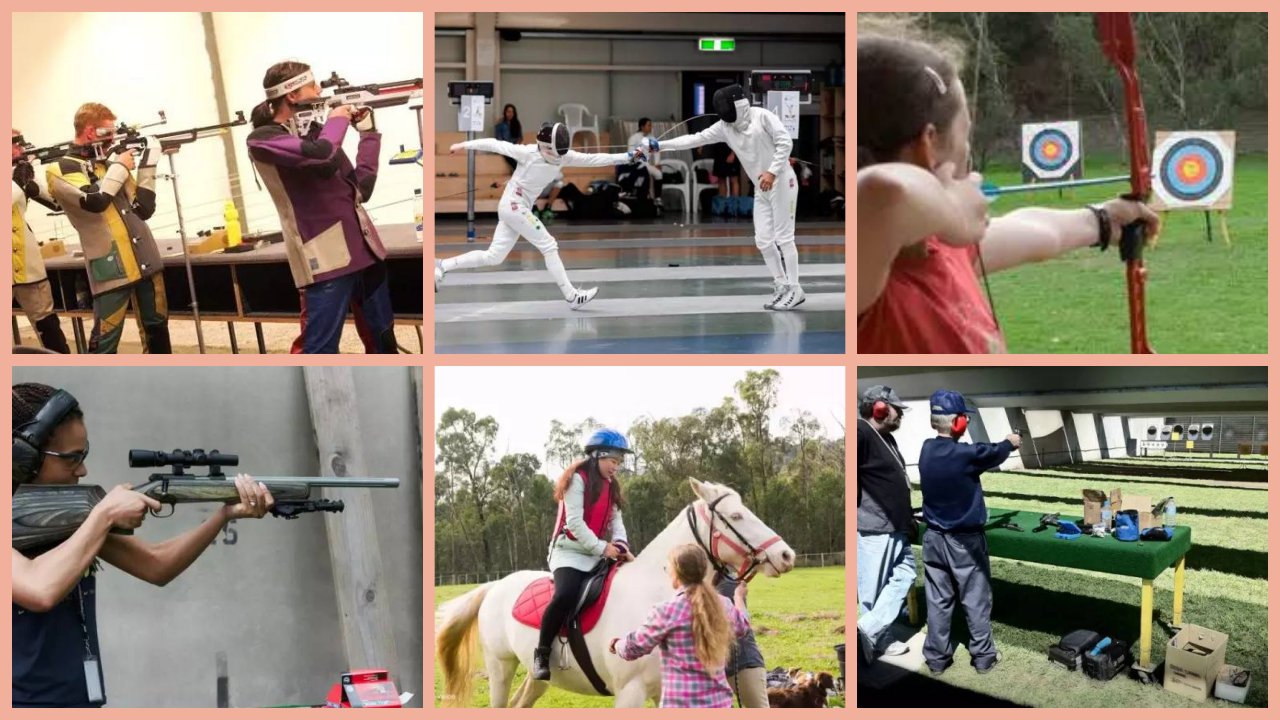 Shooting, archery, swordsmanship... count the Olympic events that everyone in Australia can play! You must not miss it when you come to Australia!