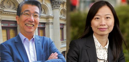 Wang Zongjian and Yang Qianhui running for the mayor of Melbourne..... My Diary of Political Participation – Unknown – 28/04/2018