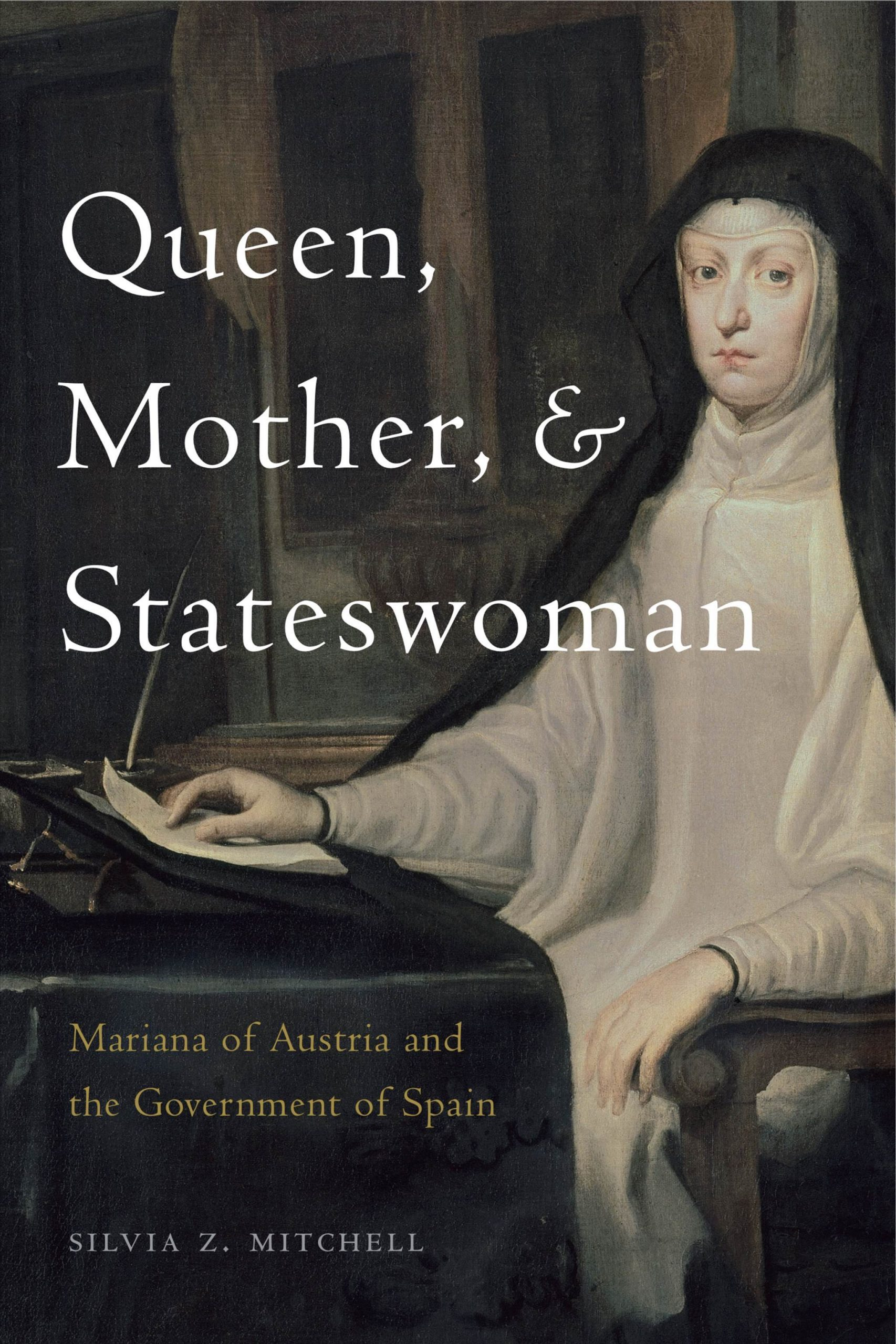 Silvia Mitchel volume cover: Queen, Mother, Stateswoman