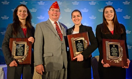 2013 American Legion High School Oratorical Scholarship Program winners. (Photo courtesy of the American Legion)