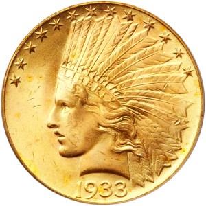 1933 $10 obverse