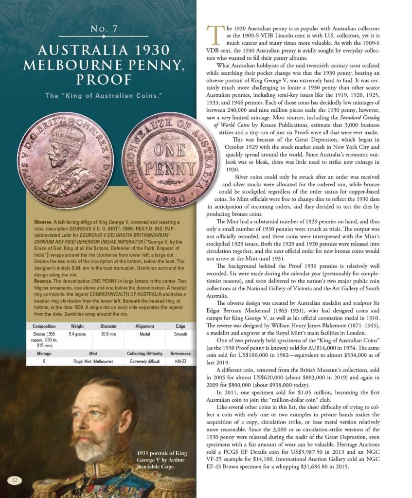 100 Greatest Modern World Coins p. 12