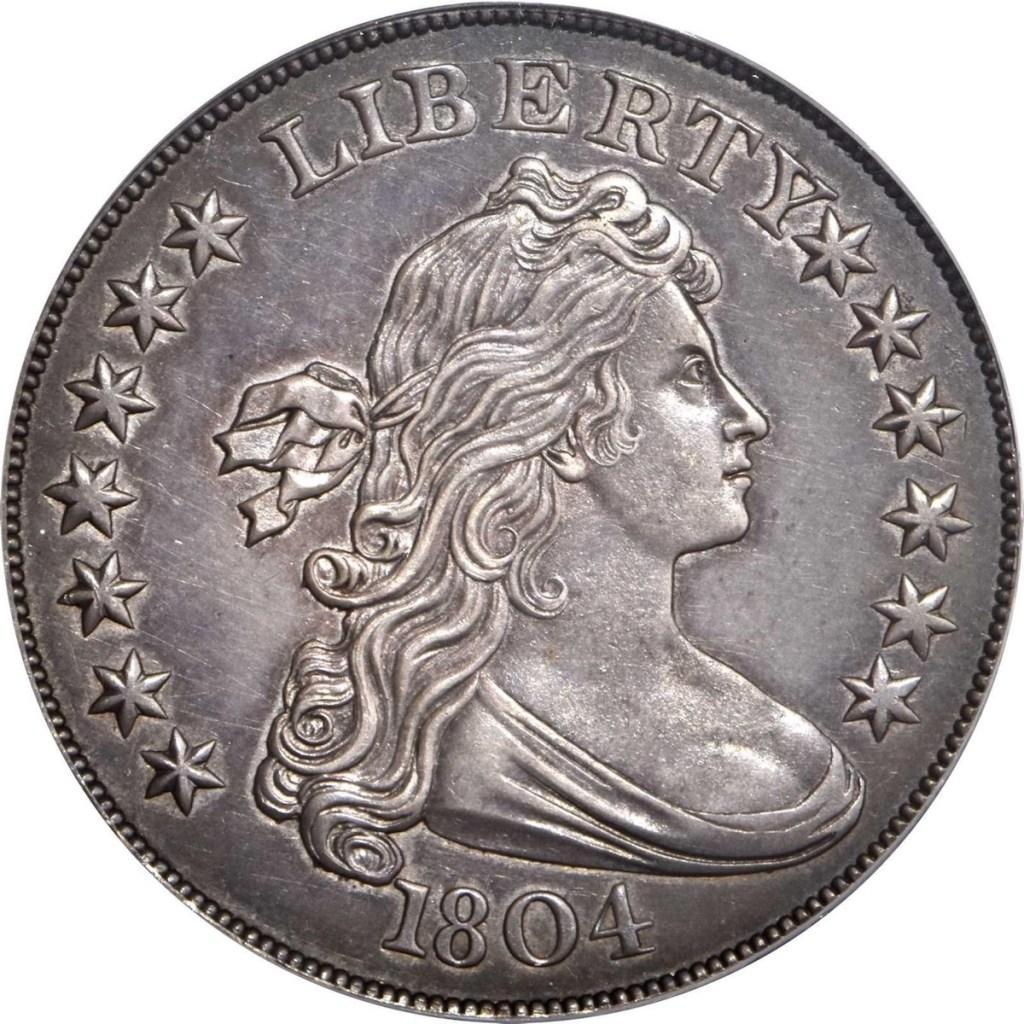 1804 U.S. silver dollar