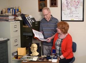 Ken Bressett and Barbara Gregory