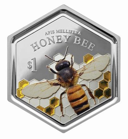 Νέα Ζηλανδία 2016 $ 1 μέλισσας bSMALL