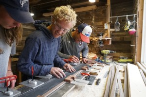 Ski Building - Colorado Academy 2018 Interim