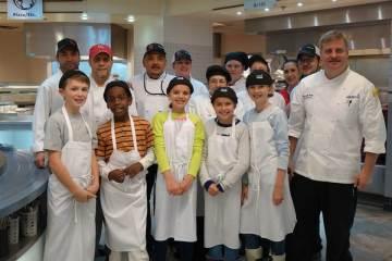 tudents 'Eat Up' Chef Mentoring Program