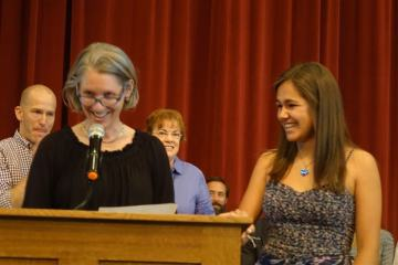 Students Honored at US Awards Ceremony