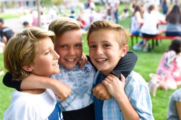 The 2018 Back-to-School Picnic at Colorado Academy.