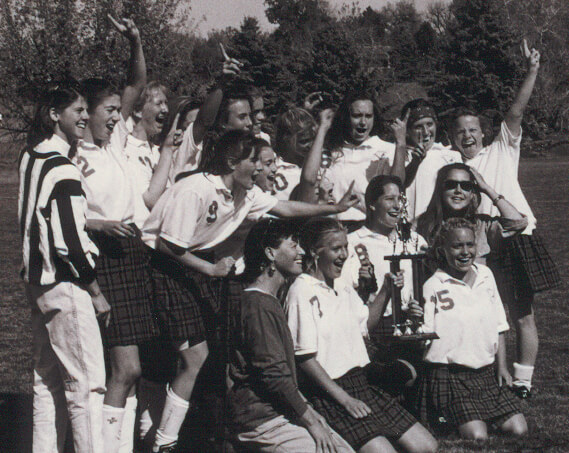 CA's 1992 Field Hockey Team