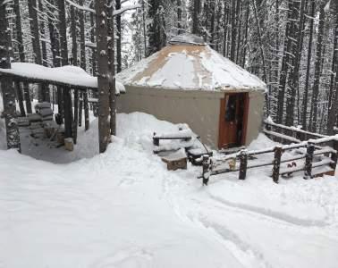 Tennessee Pass Yurt Trip