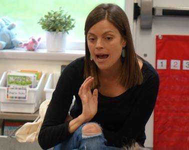 Megan Ollett is an expert in her classroom.