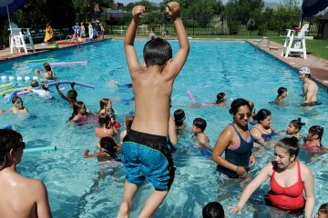 All CA Horizons students learn to swim.