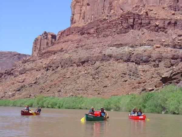 Canoe Labyrinth Canyon