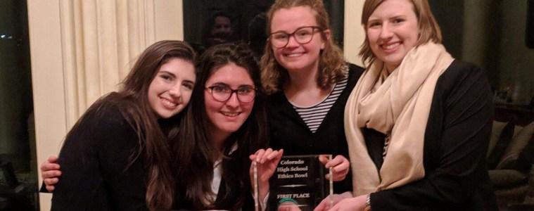 From left: Anna Fucarino, Jasmine Bilir, Kayleigh Milligan, and Anne Freeman