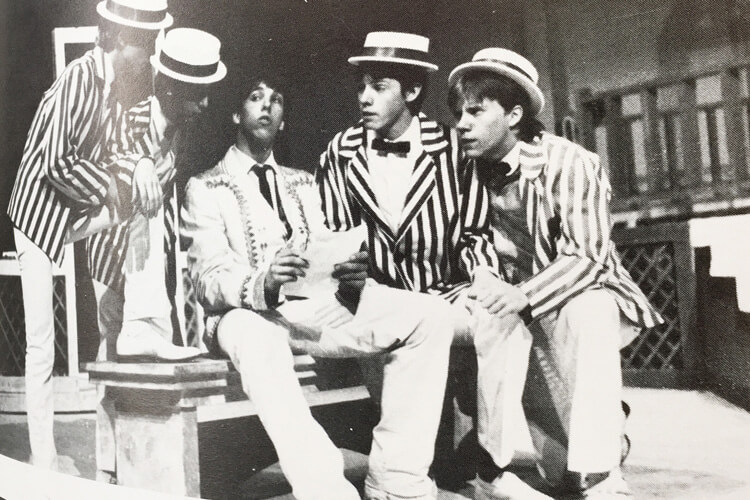 """CA's performance of """"The Music Man"""" in 1984"""