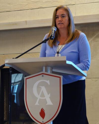 2019-2020 CA Parent Association President Jill Rakowski