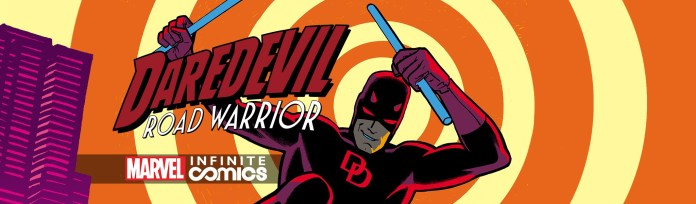 Daredevil Road Warrior Banner