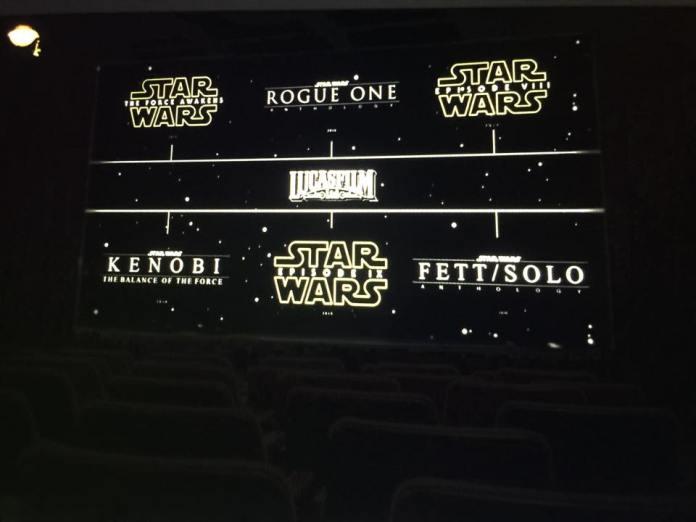 star wars movie slate